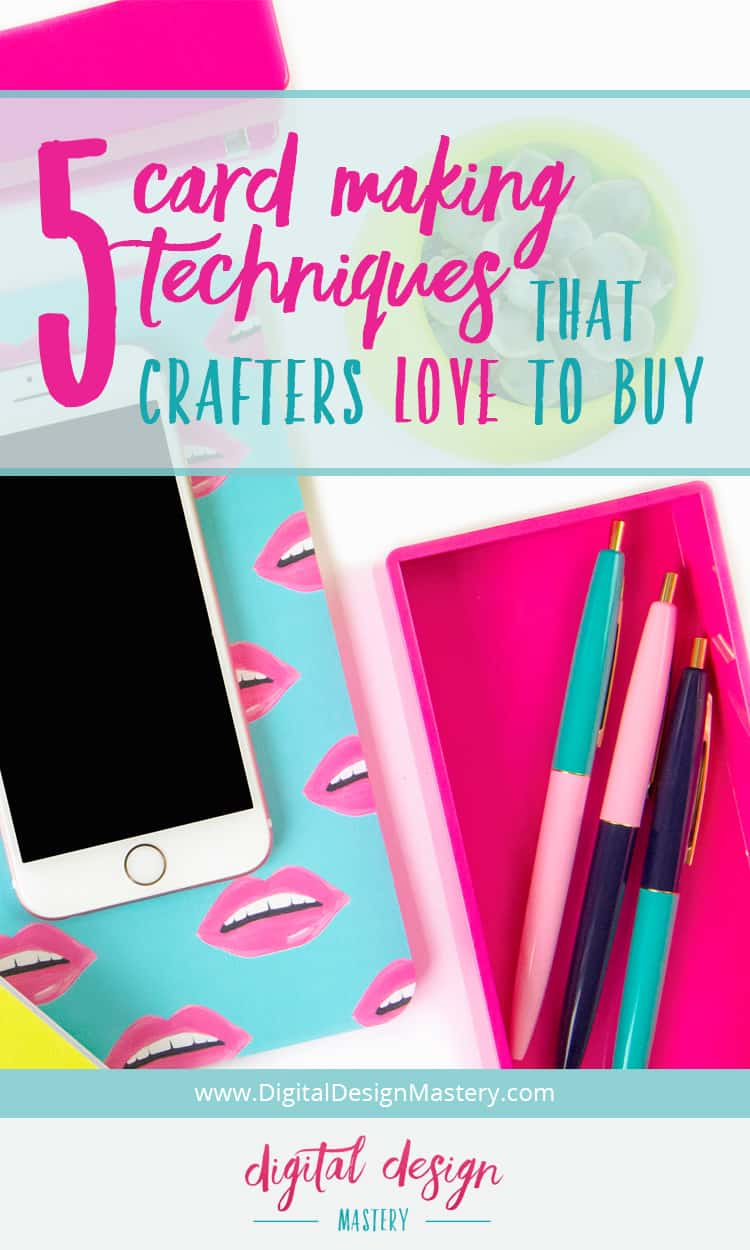 5 top card making techniques that crafters love to buy | Craft With Sarah