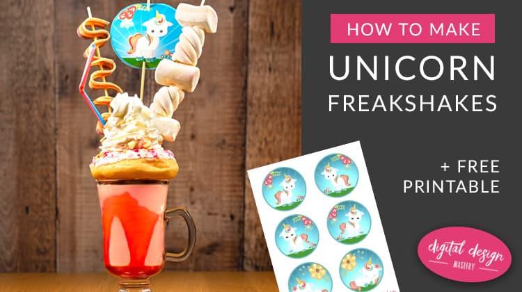 Unicorn Freakshake Recipe