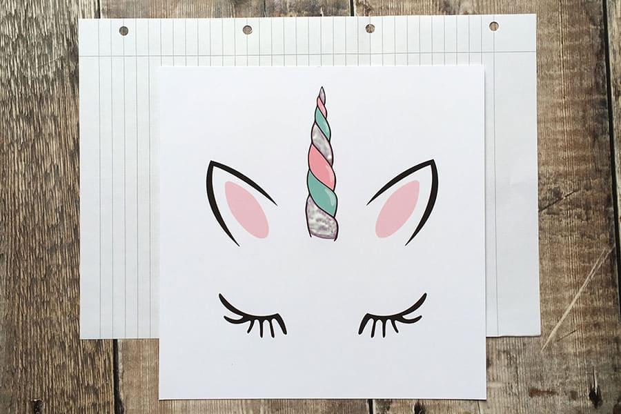 Adding glitter to a unicorn horn