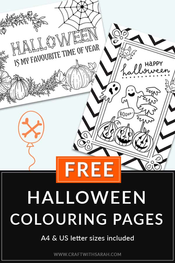FREE Halloween Colouring Pages for Adults