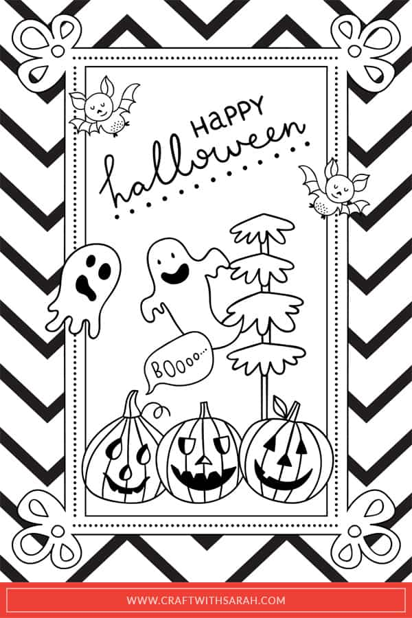 Halloween Coloring Pages Printables Coloring Page Sweet Spooky Little Coloring  Page For Sharing Free - birijus.com | 900x600