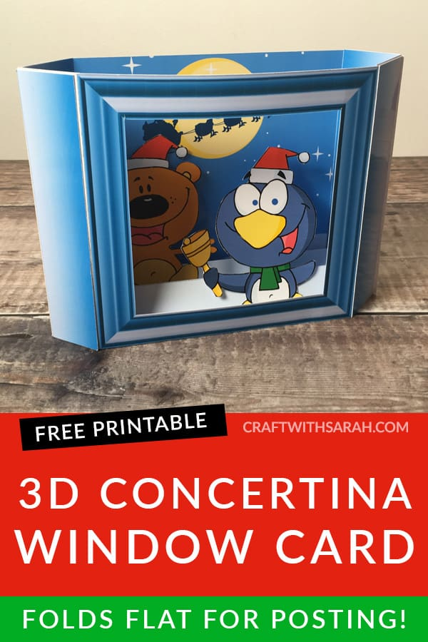3D Concertina Window Card Kit