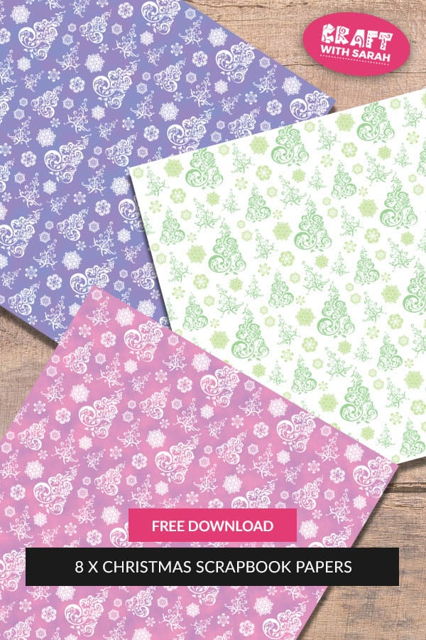 Free Christmas Scrapbook Papers