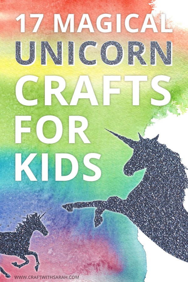 17 magical unicorn crafts for kids. Kid's craft projects with unicorn. Fun unicorn craft ideas. DIY unicorn crafts. Fun unicorn paper crafts. #unicorns #diyunicorn #unicornlove