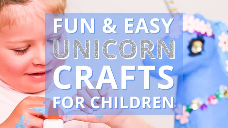 Fun & Easy Unicorn Crafts for Kids. All the unicorn craft ideas you'll need!