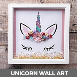 Unicorn Wall Art Tutorial