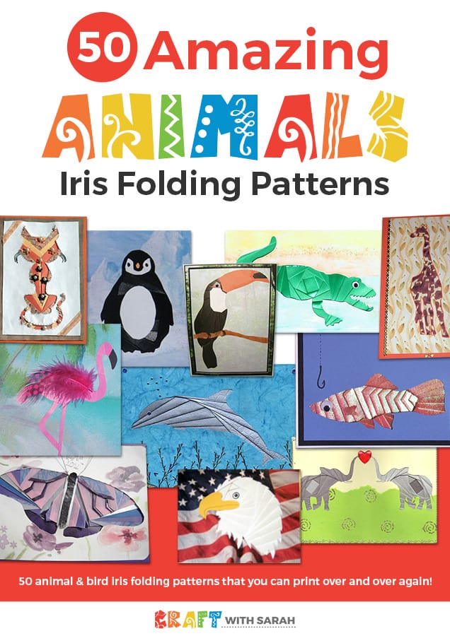 Amazing Animals Iris Folding Patterns