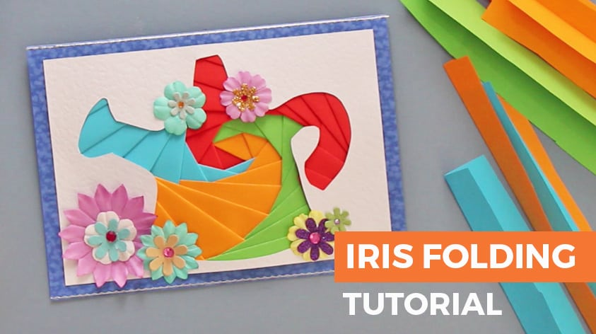 Easy Iris Folding Instructions Free Patterns With Video Craft