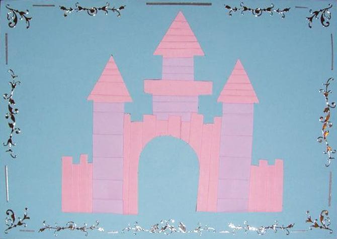 Castle Iris folding pattern
