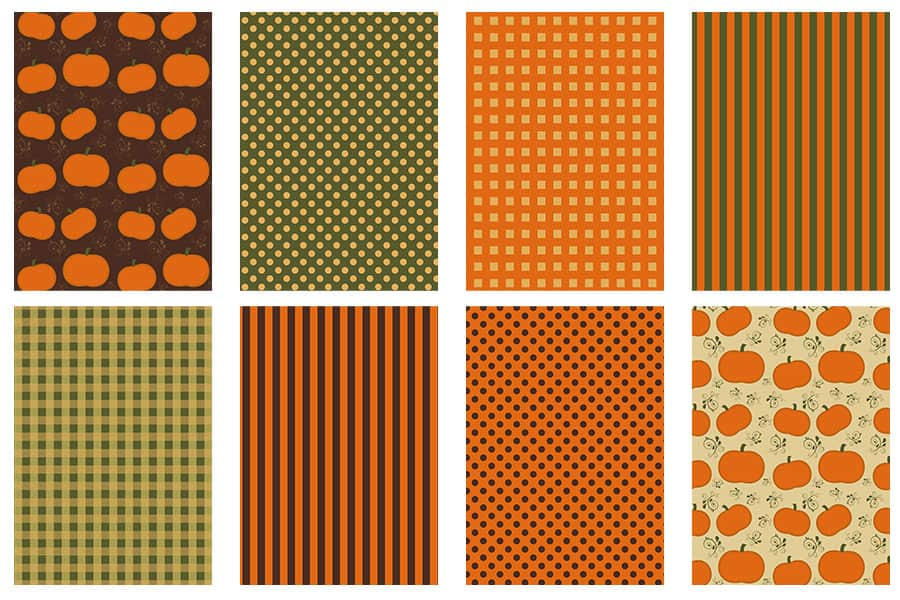 Fall scrapbook papers to download for free.