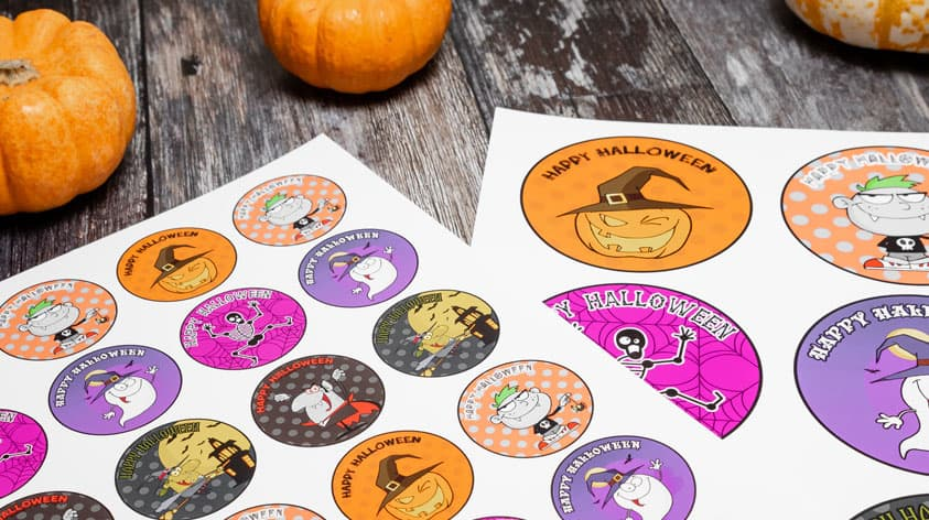 Halloween toppers | Free printable