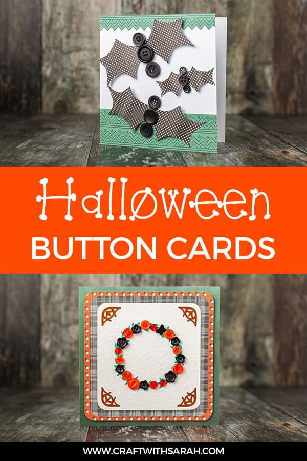 Easy Button Cards to Make for Halloween