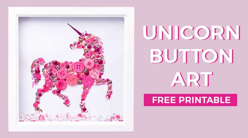 image relating to Free Printable Unicorn Template identify Unicorn Button Artwork Guidebook How in the direction of crank out unicorn upon artwork