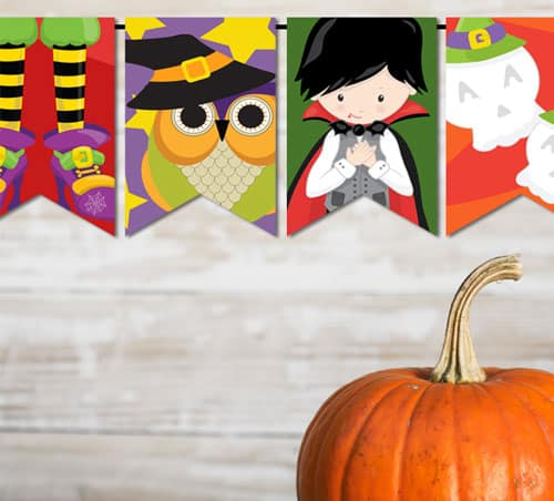 Free Printable Halloween Bunting