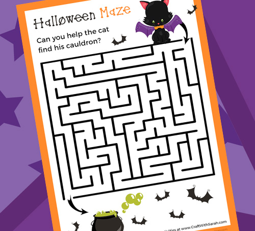 Can you Solve this Halloween Maze Game?