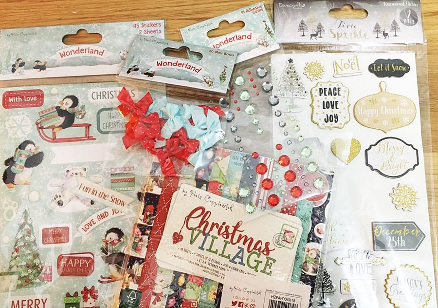 *OFFER* Helz Cuppleditch Christmas Wonderland Paper Card Craft Collection!