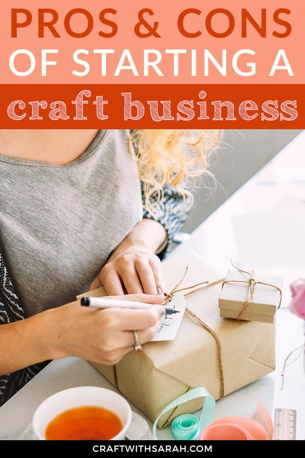 The Pros and Cons of Starting a Handmade Craft Business
