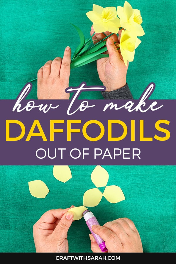How to make daffodils out of paper. Follow these easy tutorials for how to make daffodils out of construction paper, crepe paper and even pipe cleaners and egg cartons!