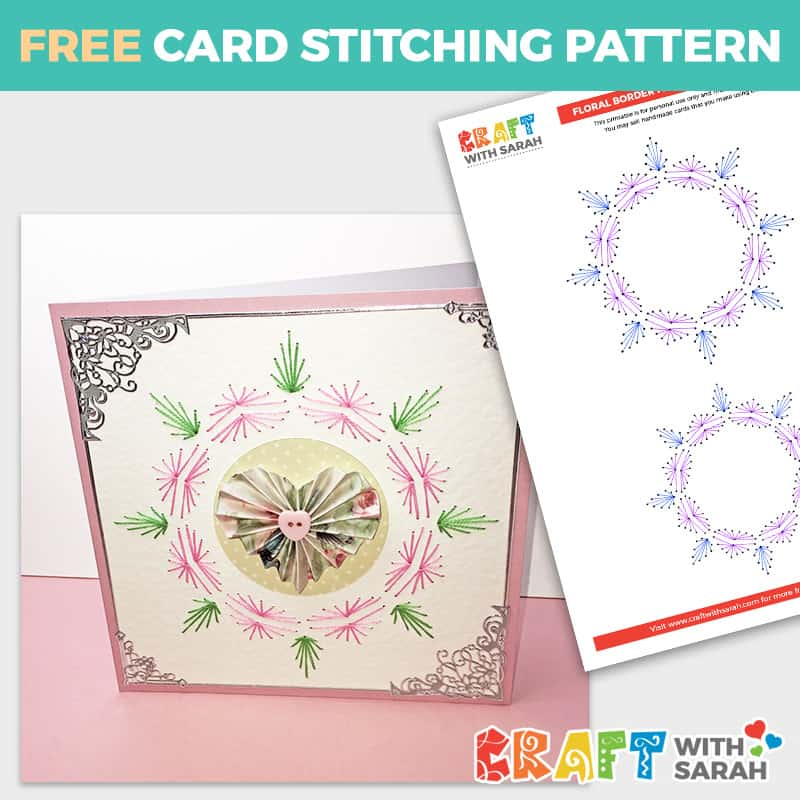 Paper Embroidery Border Pattern