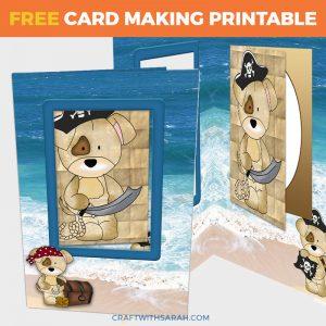 Pirate Dogs Card-in-a-Card
