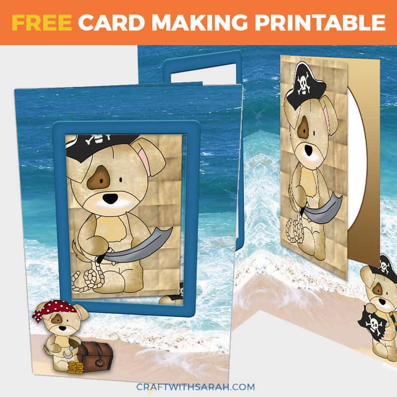 Pirate Dogs Card-in-a-Card