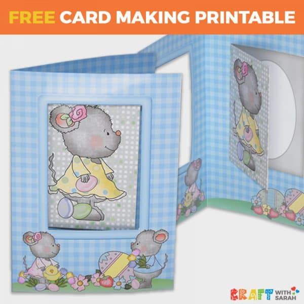 Easter Mice Card-in-a-Card