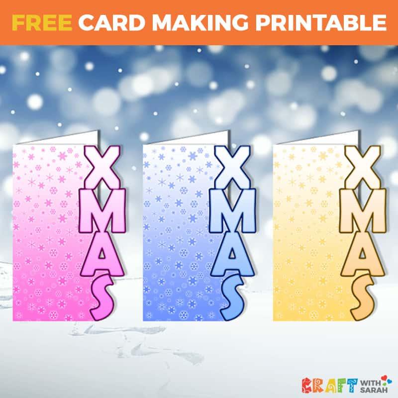 XMAS Shaped Card Templates