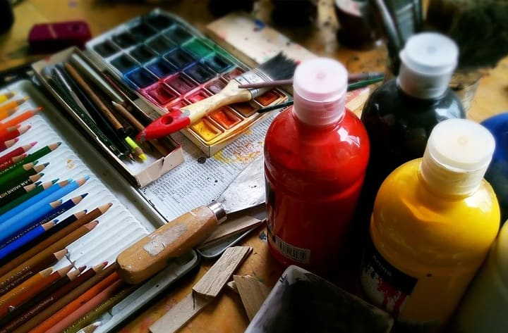 Art materials for artists who sell their work and make a profit