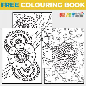 Flowers Coloring Page Book