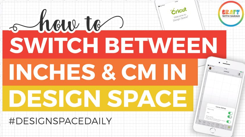 How to Change Design Space Measurements from Inches to CM