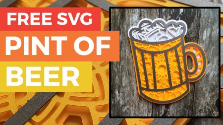 FREE 'Beer Pint' SVG For Father's Day