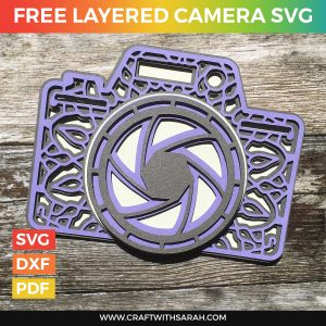 Free Layered Camera SVG