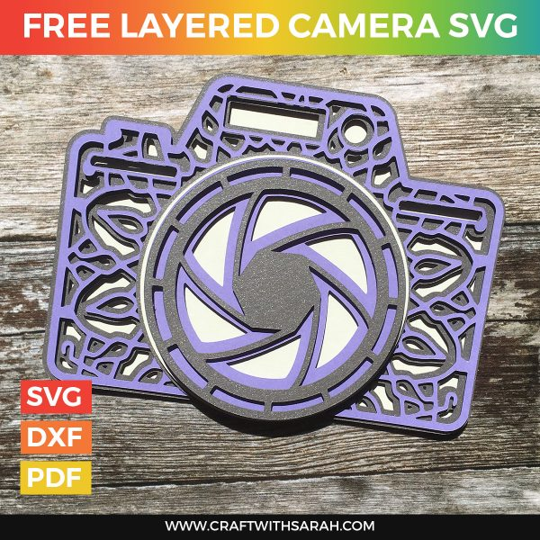 Free Layered Camera SVG
