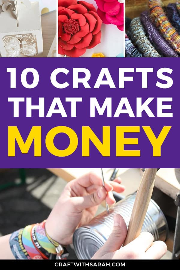 Make money from crafts with these top 10 profitable crafts for 2020. Learn what crafts make money and what handmade products you can make and sell.
