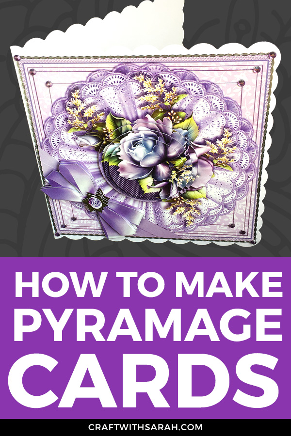 VIDEO: How to make pyramid cards. Follow these step-by-step-instructions for how to pyramage your handmade cards.