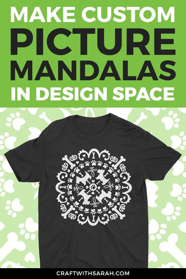 [VIDEO!] Draw your own picture mandalas in Cricut Design Space. Watch this Design Space tutorial on how to design picture mandalas to cut on your Cricut machine.