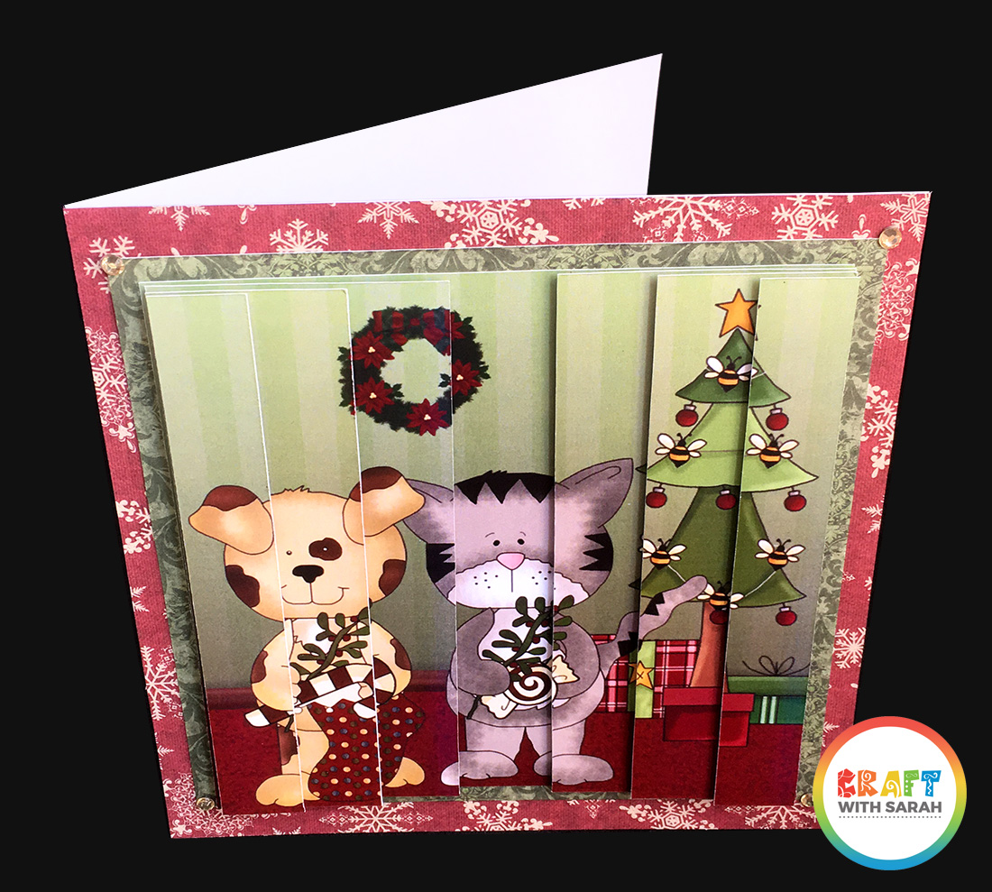 Side stacker tutorial. Learn how to make side stacker cards like this one!