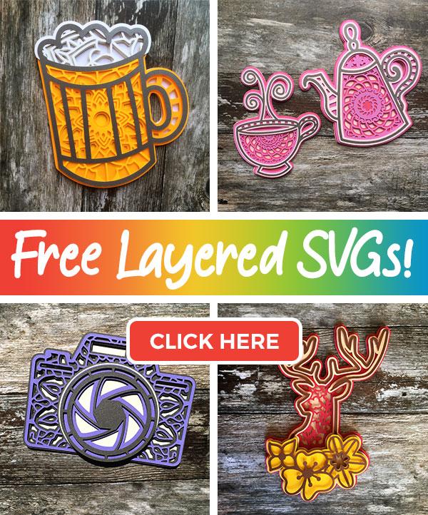 Free layered SVGs
