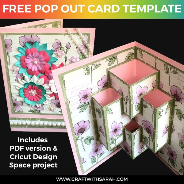 Pop Out Card Template 01