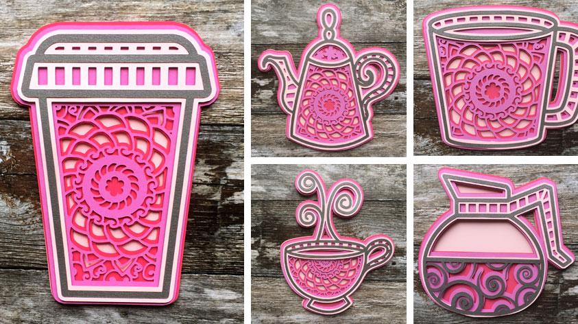 Free Tea & Coffee SVGS