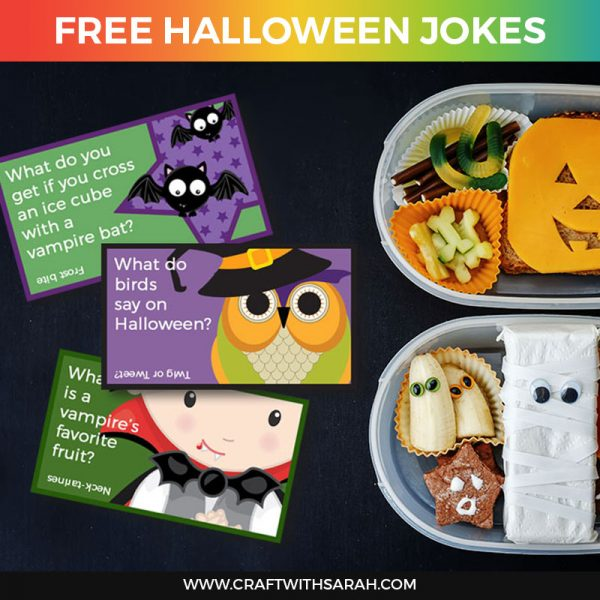 Hilarious Halloween Jokes for Kids (Halloween Lunchbox Jokes)