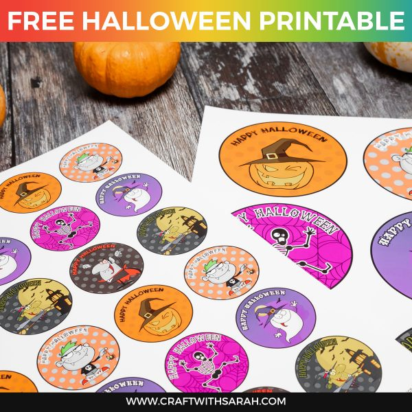 Halloween Gift Tags & Badges