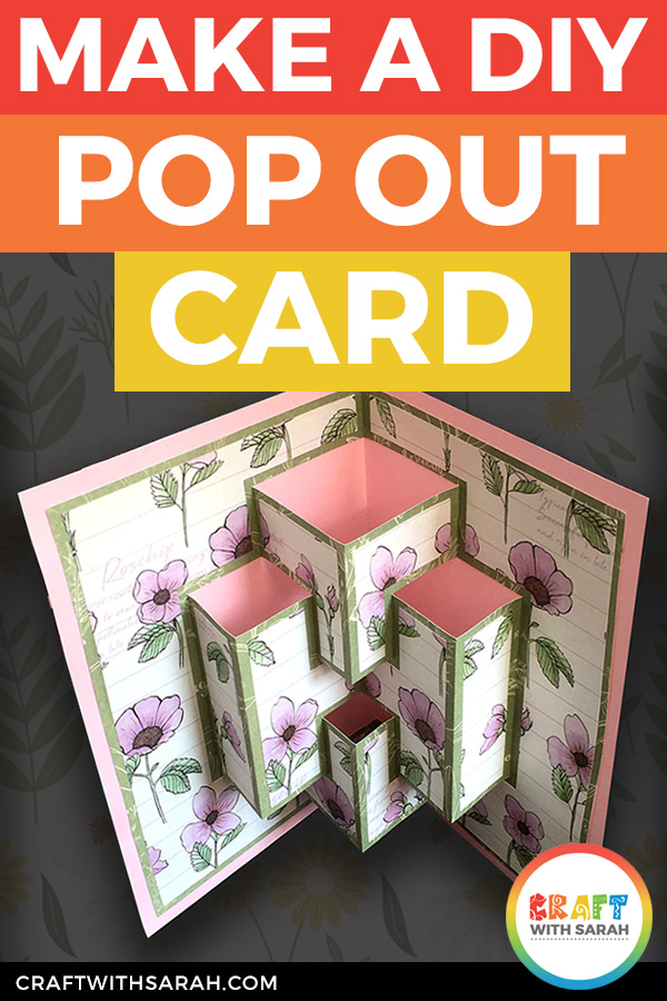 Easy DIY Pop Out Card with Free Template