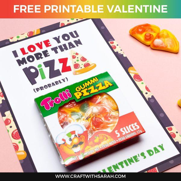 Funny Pizza Valentine's Day Gift