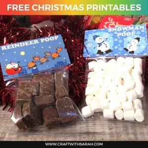 Snowman Poop & Reindeer Poop