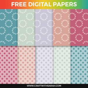 Craft Papers: Spring Edition Spots & Circles
