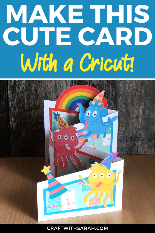 Watch this video tutorial on how to make a cascade accordion card. Free Cricut Design Space profile files included! #cricut