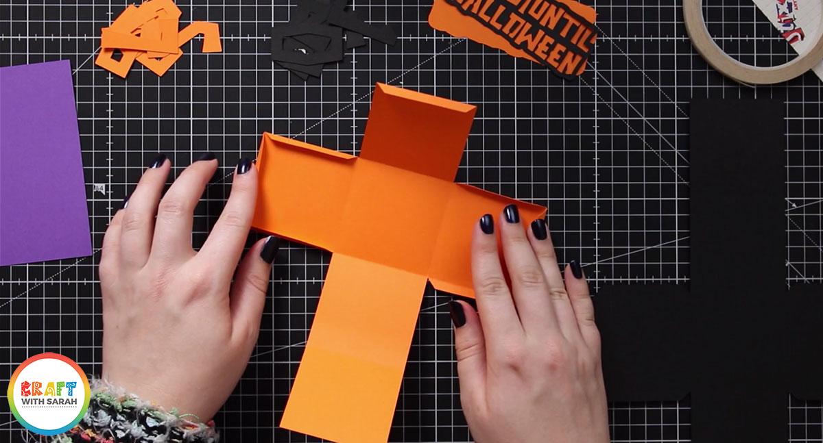 Fold the orange cube