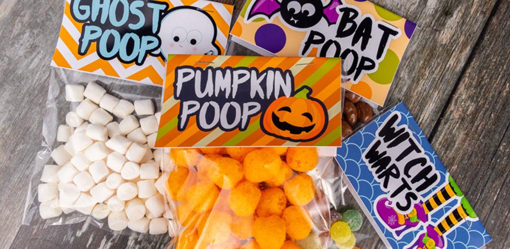 Free Halloween Treat Bag Topper Printables