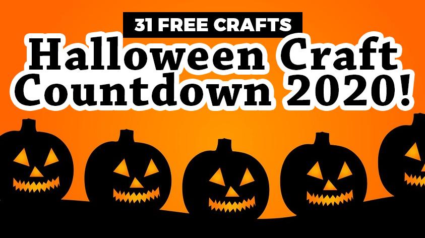 Halloween Craft Countdown 2020